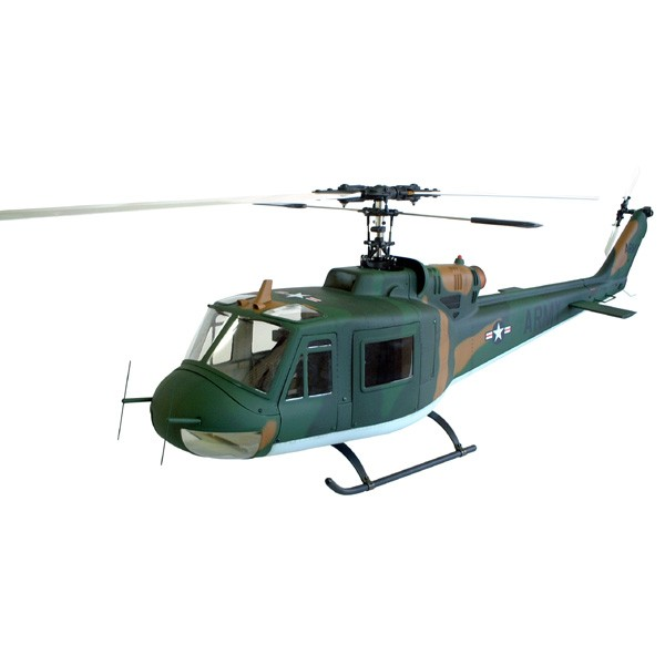 30 iroquois BELL UH-1B camouflage painted