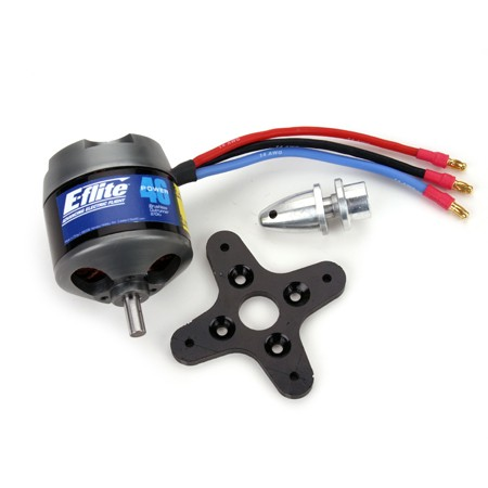 Power 46 Brushless Outrunner Motor; 670Kv