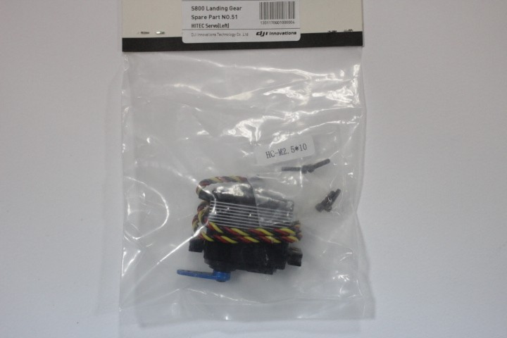 PART51-S800_287_HITEC servo (left) accessory pack