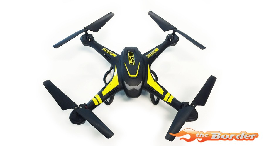 YellowRC YEL9100 Stealth HD Drone 2.4Ghz incl 2mp HD camera
