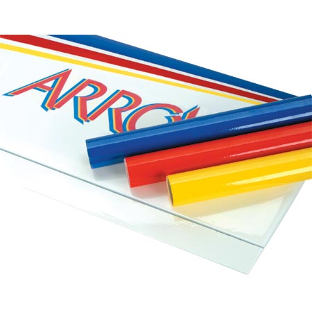 For the best look and durability, the Arrow is covered in genuine White, True Red, Bright Yellow, and Deep Blue Hangar 9 Ultracote.