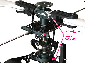 High precision main rotor assembly and new main rotor holder