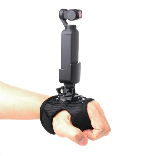 Wrist Band Belt and Supporting Adapter Hand Strap Accessories for DJI OSMO POCKET Gimbal & OSMO ACTION Camera