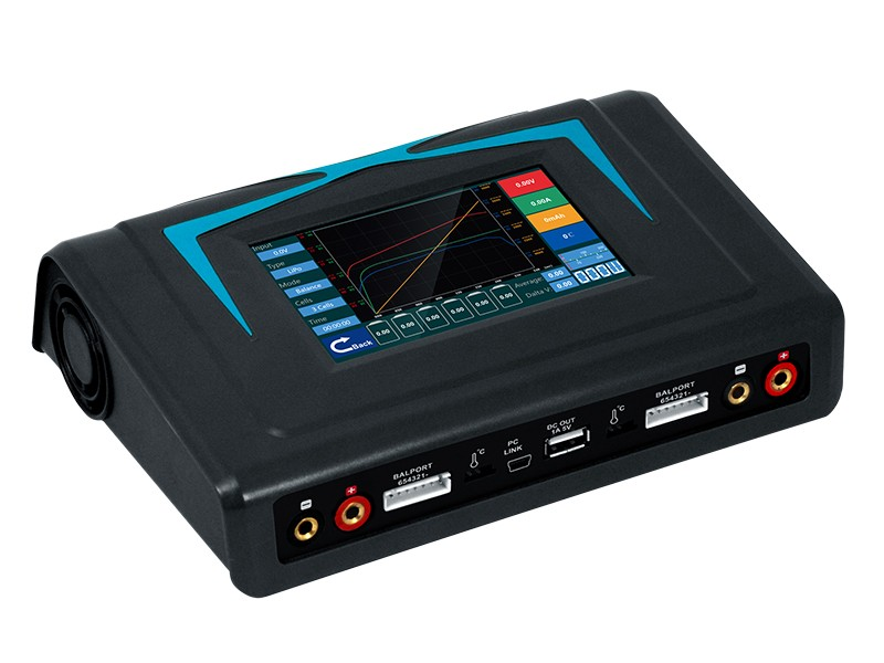 iMax X400 Twins Touch Screen Balance Charger