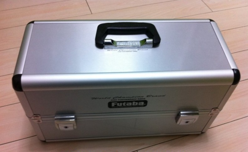 Double transmitter aluminum case