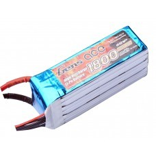 Gens ace 1800mAh 22.2V 45C 6S1P  for Goblin 380With XT-60 Plug