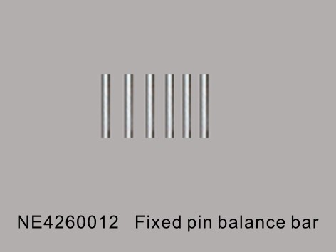 Fixed pin balance bar