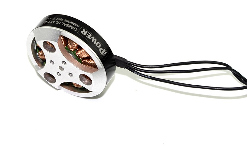 4008-150T Brushless Gimbal Motor. No extension Shaft