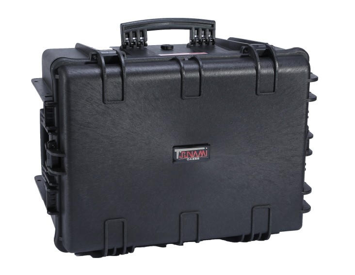 Hard Case with Cube Foam, Handle, Wheels, 670*508*355mm