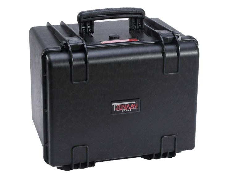 Hard Case with Cube Foam, Wheels, Handle, 466*390*351mm