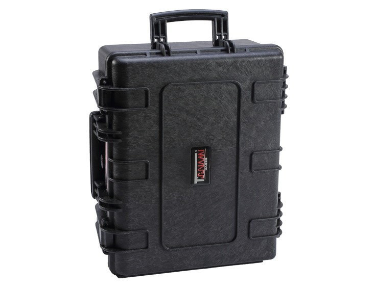 Hard Case with cube foam, wheels, handle, 520*435*220mm