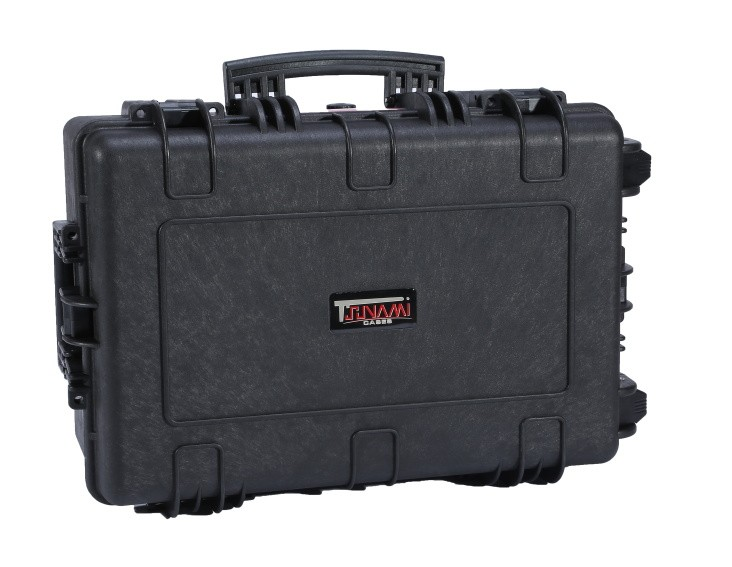Hard Case with Cube Foam, Wheels, Handle, 610*472*275mm