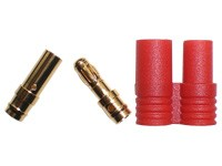 Golden Plug 3.5 mm (5 pair) with Shield