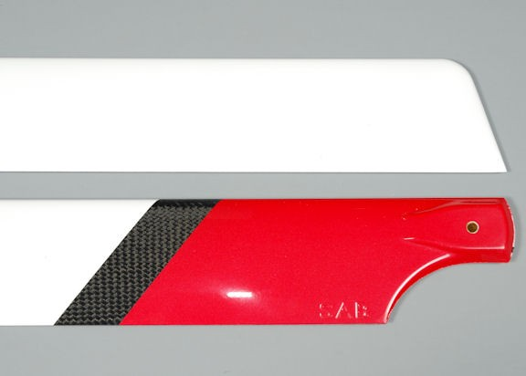 Carbon blades 685mm Red Devil