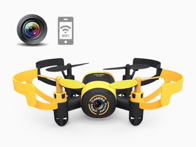 Quadcopter with camera and  FPV real-time transmission