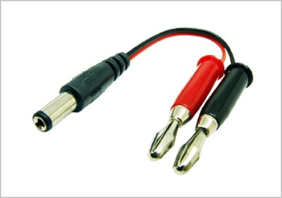 CONVERSION ADAPTOR JR TX -> BANANA PLUGS