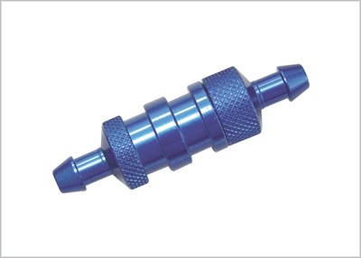 DELUXE FUEL FILTER BLUE