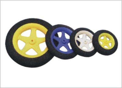 E. FOAM WHEEL 65mm 2PCS./SET