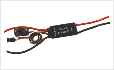ELECTRONIC SPEED CONTROLLER 50AMP
