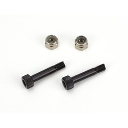 Main Rotor Blade Mounting Screw&Nut Set (2): B450