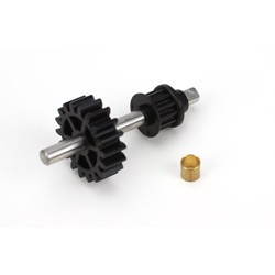 Tail Drive Gear/Pulley Assembly: B450