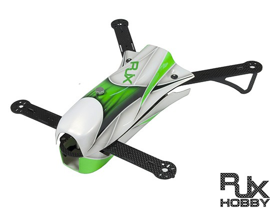 RJX CAOS 330 FPV Racing Quadcopter Green -Frame Only