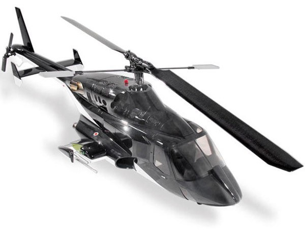 Airwolf (Painted) 50 Size RC Helicopter Scale Fuselage