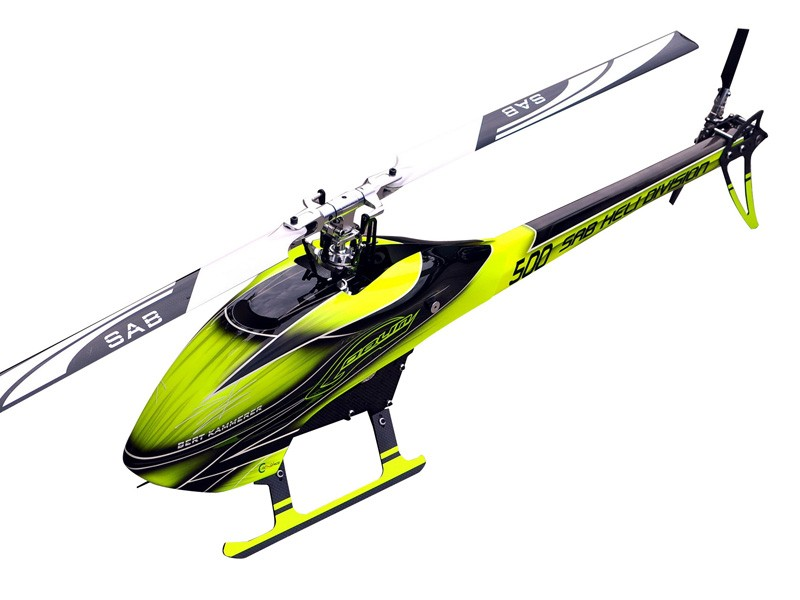 Goblin 500 Flybarless Electric Helicopter Yellow/Black