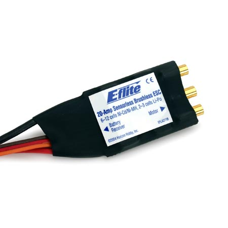 20-Amp Brushless ESC (V2)