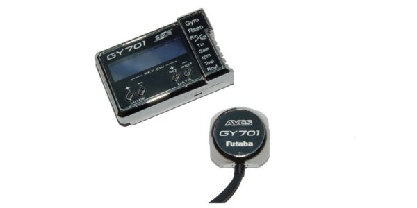 Futaba GY701 Micro Gyro with OLED S.BUS System