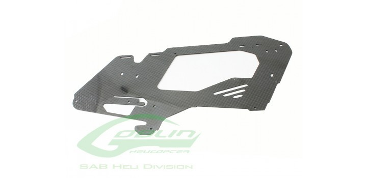 CARBON FIBER MAIN FRAME 1 pc - GOBLIN 380