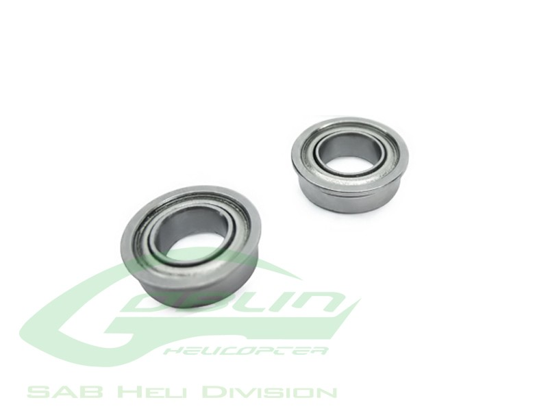 Flanged bearing ?8 x ?12x 3,5