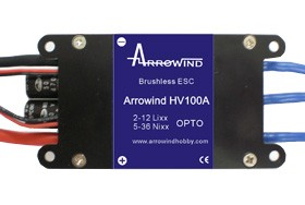 Arrowind 100A ESC High Voltage