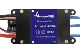 Arrowind 80A ESC High Voltage
