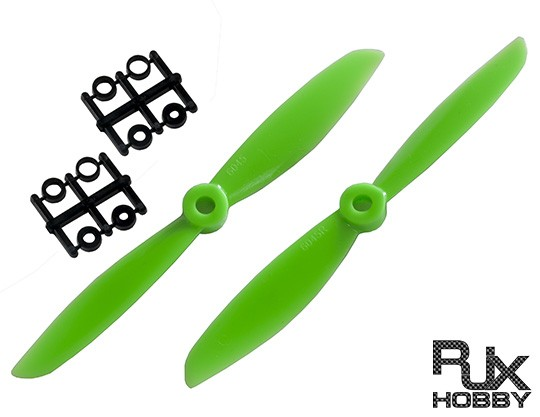 RJX ABS 6045 Props Quadcopter CW&CCW (Green )