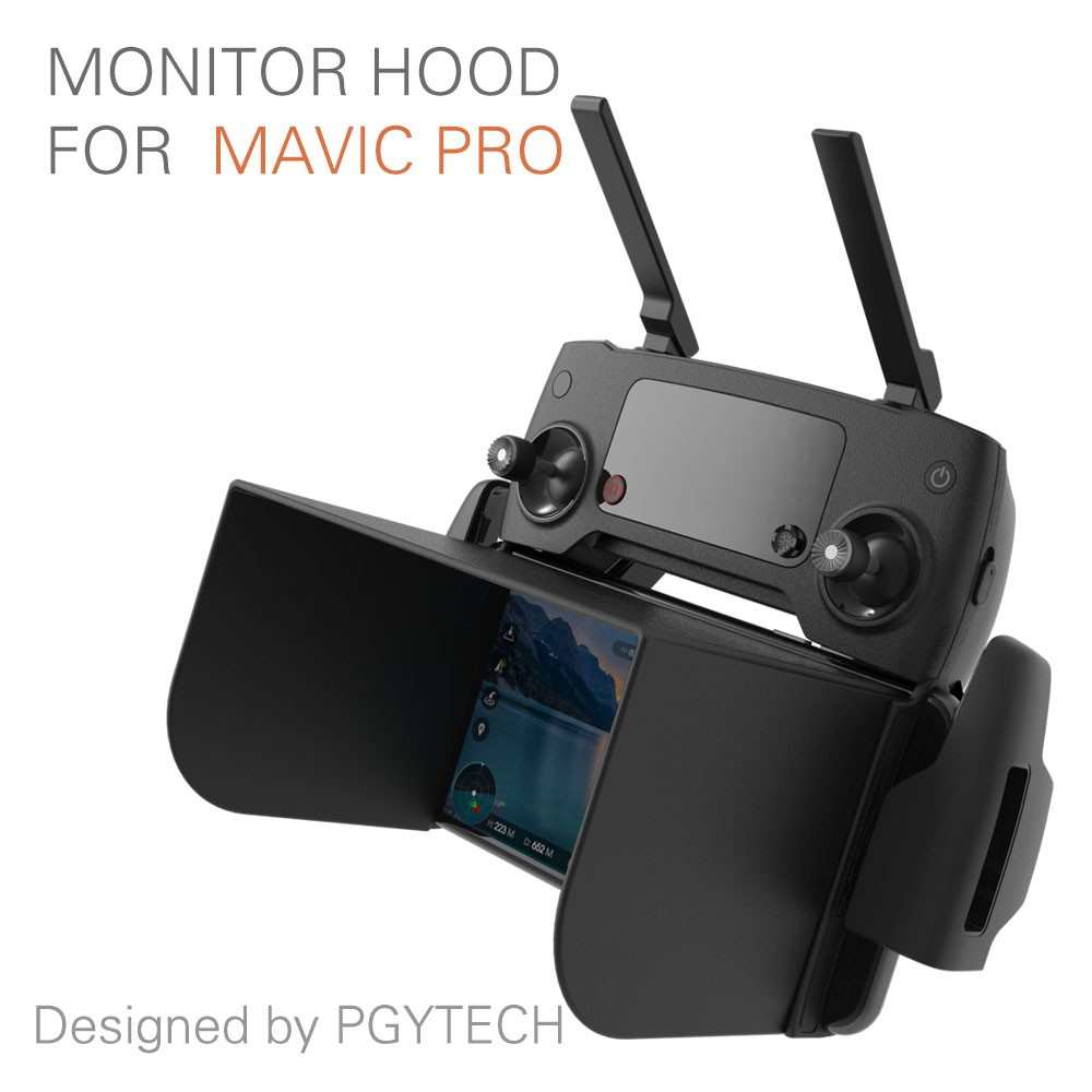 PGYTECH Monitor Hood for Mavic / Spark ( Black ) L111