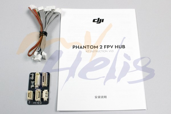 Phantom 2 FPV cable & Hub