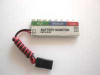 Receiver Battery Monitor