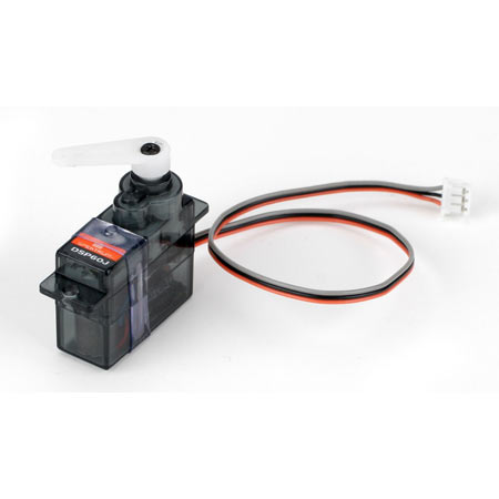 6.0 Gram Super Sub-Micro Digital Prog Servo JST connector