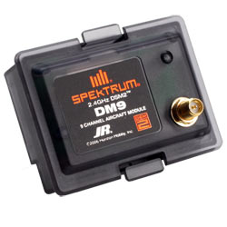 DSM2 AIRMOD JR-COMPATIBLE. With AR9000 9Ch Receiver