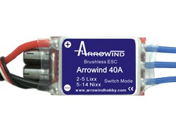 Arrowind 40A ESC Switch Mode