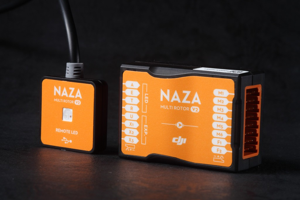 Naza M V2 with GPS compo