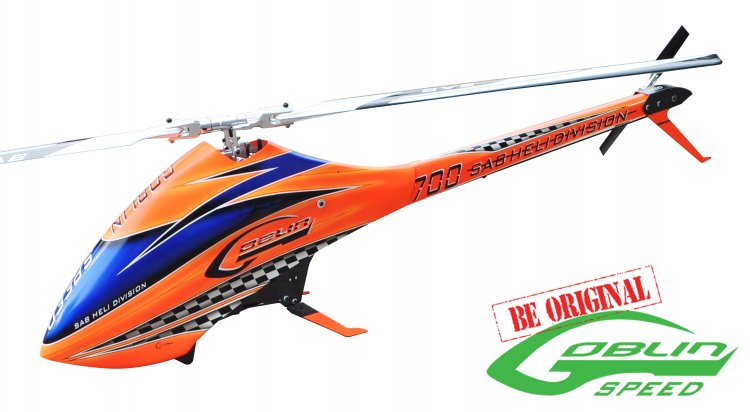 GOBLIN 700 SPEED ORANGE