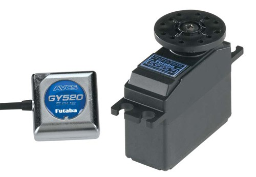 GY520 Gyro with S9257 Digital Servo