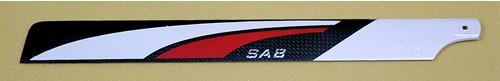 SAB Carbon Main Blades 3D  690mmx62mm, 175 grams