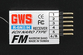 GWS 6-Channel Naro Receiver