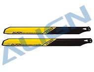 315 Carbon Rotor Blade/Yellow (OLD NO.HS1160T)