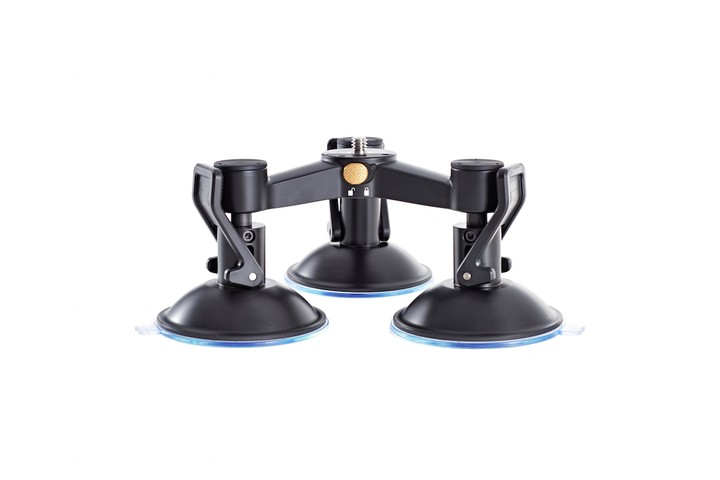 Osmo - Triple Mount Suction Cup Base