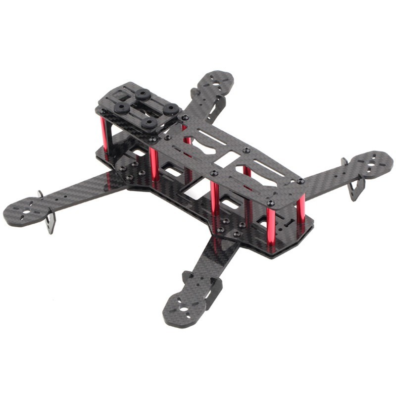 H250 3K Carbon Fiber Quadcopter Frame mini  Kit for FPV