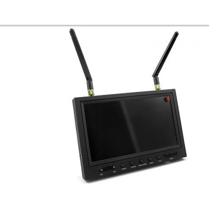 5,8Ghz All-in-one monitor + FPV wireless receivers + Diversity